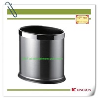 double layer recycle bin without cover for room use