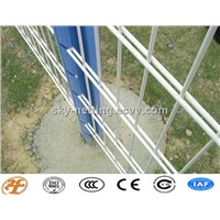 double wires welded fencing factory