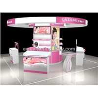 exhibition kiosk/ display shelf metal for jewerlly,watch,cosmetic,mobile phone
