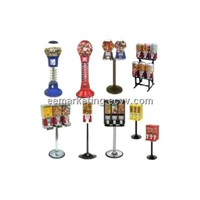 Factory Wholesales Toys/ Candy/ Gumball/ Pinball Game Machine Vending Machine Coin Operated Support