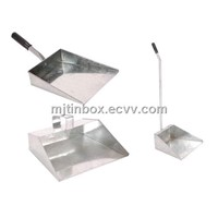 galvanized steel dust pan