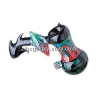 glass spoon pipe glass bubbler