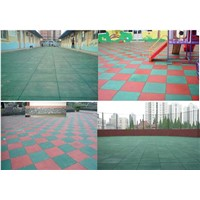 high quality outdoors rubber flooring