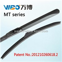 hybrid nature rubber wiper blade for car