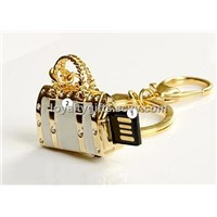 high grade jewelry bag USB Flash drive Memory Stick Key metal usb