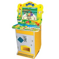 Kids Electric Game Machine Paipai Le II Arcade Game Machine Kids Favorite