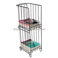 wire magazine stand/newspaper rack/book stand