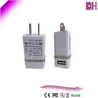 mobile phone charger with charging light  5v2.1a