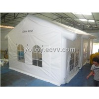 Mobile White Inflatable Dining House Party Tent Outdoor PVC Tarpaulin Tent