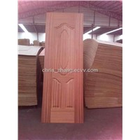 moulded HDF  sapele door skins 830*2100mm