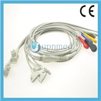 philips TC30 ekg cable with leadwires set