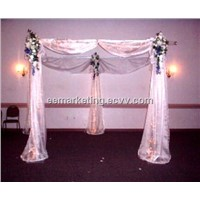 Pipe & Drape System Curtain Rod Popular Stage for Wedding, Trade Show Booth