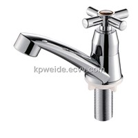 2015 Hot Sales Good Quality Plastic Nickled Basin Faucet