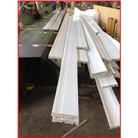 polystyrene PS molduras /rodapes/baseboard/ skirting board /decoration moulding manufacturer