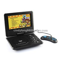 portable DVD player with TV tuner 7inch
