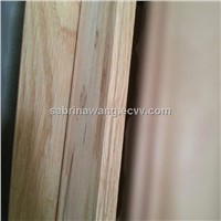 profile mouldings wrapped by Red Oak for profile-wrapped door