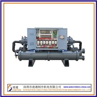 screw industrial water chillers, water-cooling hermeetic chillers for industrial use