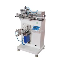 semi-auto single color screen printing machine for water bottle
