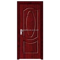 Solid wood door made of MDF,solid wood with wood venner