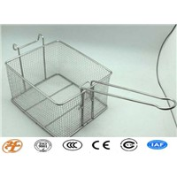 stainless steel safety kitchen mesh basket