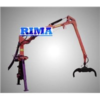 timber crane for tractor