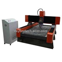 tombstone/marble/graniet cnc engraving machine  RF-1218-4.5KW for letters,relief etc