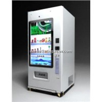 touch screen vending machine snacks & drinks,condom,tissue,books,battery,medicine automatic machine