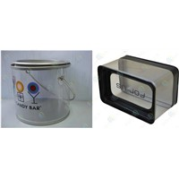 transparent plastic barrel,plastic boxes packaging,plastic containers