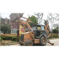 Used Original Wheel Loader Case 580L