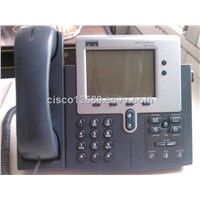 used  cisco ip phone CP-7940G  RJ-45  sip sccp