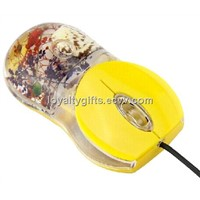water/oil wired usb optical mouse