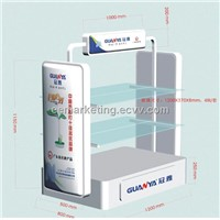 Welcome Odm Pattern Exhibition Racks/ Kiosk for LED Lamps Testing Display Board