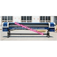 wide format solvent printer for exterior signage, vehicle graphics,canvas prints with Konica