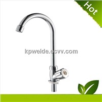 2015 Hot Sales abs Chrome plastic kitchen faucet KF-1002