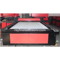 acrylic,wood,MDF,LED panel laser cutting machine RF-1630 with RECI laser tube 100W