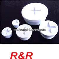 plastic threaded plug PG and Metric thread series