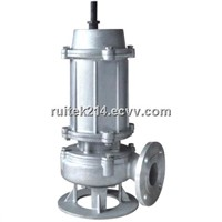 WQP stainless steel sewage pump