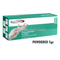 Medimax Latex Powdered Examination Gloves 5.0gr
