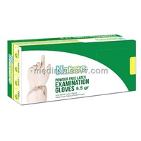 Nature Latex Powder Free Examination Glove 5.5gr