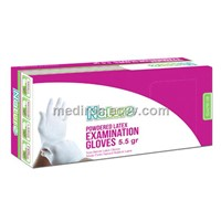Nature Latex Powdered Examination Glove 5.5gr