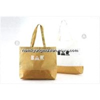 woven shopping bag