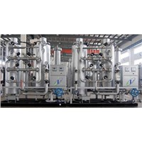 Hydrogen Generating Plant by Pressure Swing Adsorption with Purifying System