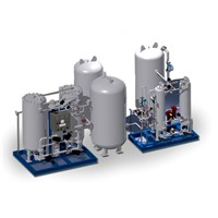 Nitrogen & Oxygen Generating Plant by Pressure Swing Adsorption