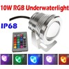 10W 12V Led RGB Underwater Light Waterproof IP68 Fountain Swimming Pool Lamp 16 Colorful With 24Key