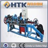 Barbed wire fence equipment