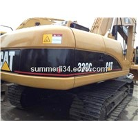 320C used CAT crawler excavator