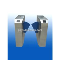 Automatic RFID Card Reading Flap Barrier Gate