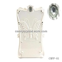 Crystal Mobile Power bank with Makeup Mirror