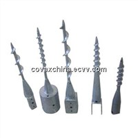 Ground Screw Pole Anchor/Ground Screw/Pole Anchor