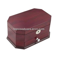 High Gloss Finish Wooden Jewelry Packing Storage Gift Box